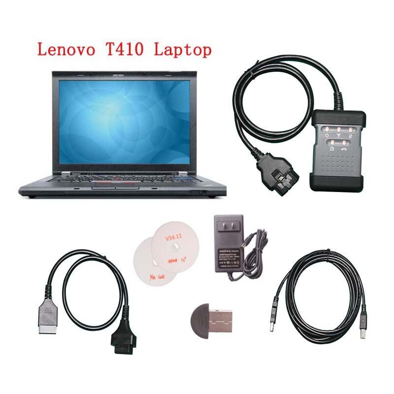 Nissan Consult 3 Consult III plus Diagnostic Tool with Lenovo T410 Laptop Ready To Use