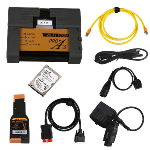 Best Quality BMW ICOM A3+B+C+D Professional Diagnostic Tool with Free Wifi and V2019.09 Engineers Software