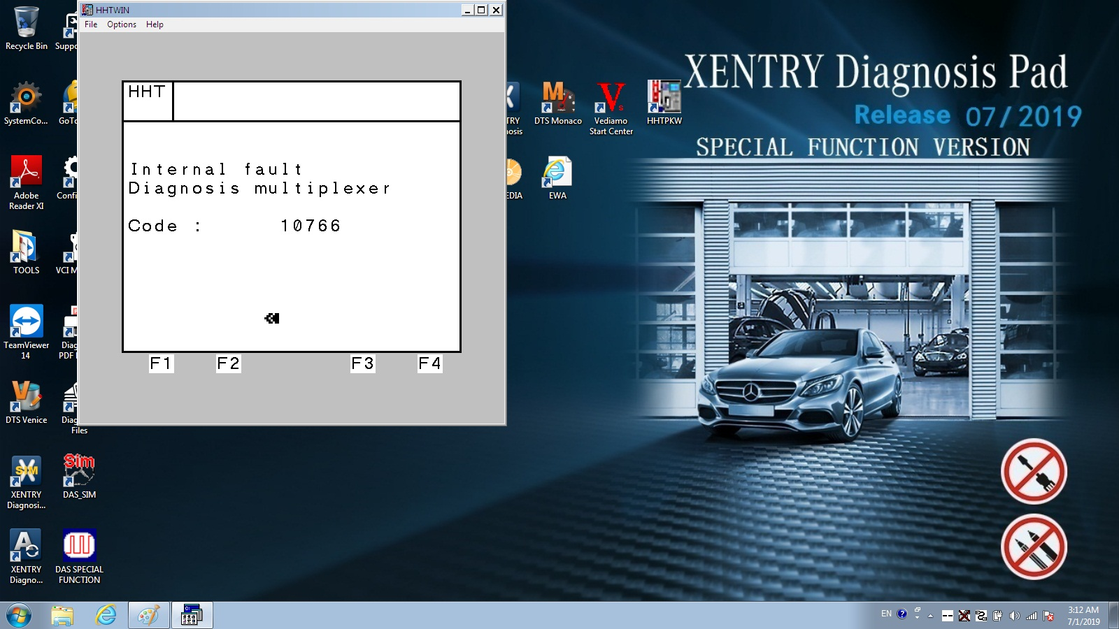 2019.09 Mercedes Benz DoIP Xentry Connect C5 MB Star C5 Plus Panasonic CF52 Laptop With Engineering Software