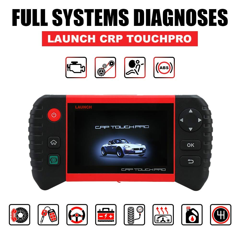 "Launch Creader CRP Touch Pro 5.0"" Android Touch Screen Full System Diagnostic Service Reset Tool Free Shipping"