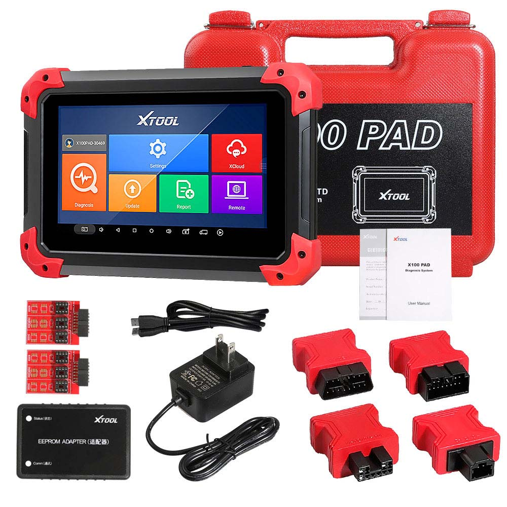 XTOOL X100 PAD X-100 Auto Car Key Programmer Supports Oil Reset and Odometer Correction with EEPORM Update Online