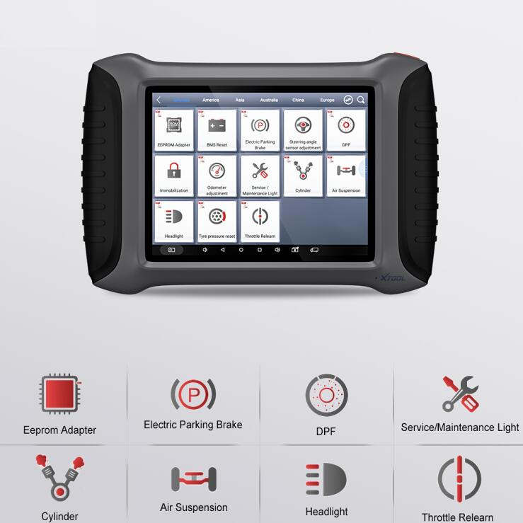 XTOOL A80 H6 Full System Car Diagnostic tool OBDII Car Repair Tool Vehicle Programming/Odometer adjustment