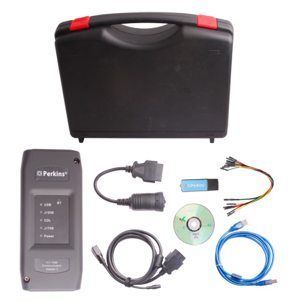Perkins EST Interface EST heavy duty Diagnostic Adapter V2015V With Bluetooth