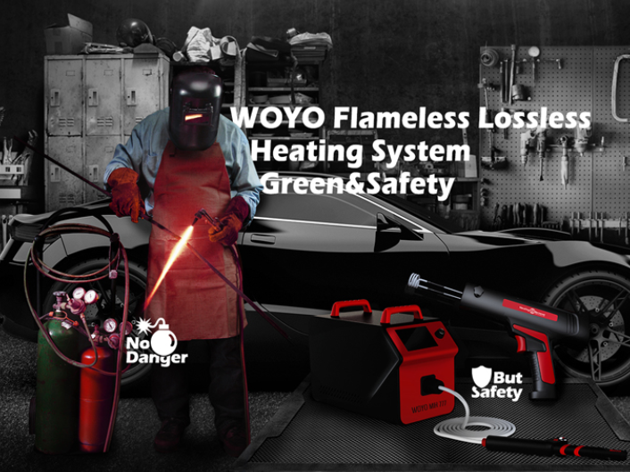 WOYO HBR Induction Heating Bolt Remover Machine 12V for Rusted / Frozen / Corrosive Bolt / Nut from Car and Machine