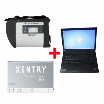 2019.9V MB SD C4 SD Connect Compact 4 diagnostic tool Plus Lenovo T410 Laptop 4GB Memory Software Installed Ready to Use