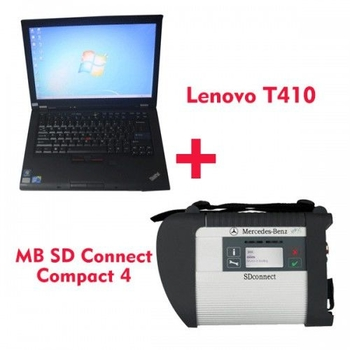 2019.9V MB SD C4 Star Diagnosis with 256GB SSD Plus Lenovo T410 Laptop 4GB Memory Software Installed Ready to Use