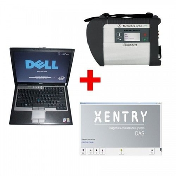 2019.9V MB SD C4 diagnostic tool Plus Support Doip with Dell D630 Laptop 4GB Memory Software Installed Ready to Use