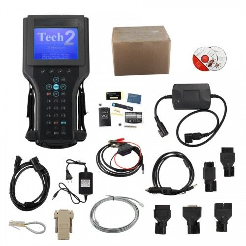 Tech2 Diagnostic Scanner For GM/SAAB/OPEL/SUZUKI/ISUZU/Holden with TIS2000 Software Full Package in Carton Box - Obdiiscantool.com