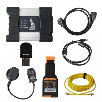 V2019.7 Best Quality WIFI BMW ICOM NEXT A + B + C NEW GENERATION Of ICOM A2 Installed on Lenovo T410 4GB Memory Ready to Use - Obdiiscantool.com