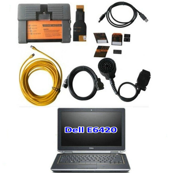 BMW ICOM A2 With V2019.09 Engineers Software Plus DELL E6420 Laptop Preinstalled Ready to Use