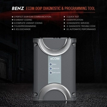 Benz ECOM Doip Diagnostic & Programming Tool with USB Dongle for Latest Mercedes Till 2019