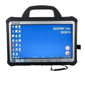 Original Mercedes BENZ C5 SD Xentry Connect Xentry Tab Kit Second Hand V2019.09 Support Online Update for One Year - Obdiiscantool.com