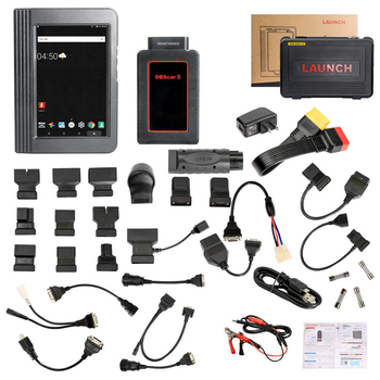 Launch X431 V 8inch Tablet Wifi/Bluetooth Full System Diagnostic Tool Two Years Free Update Online - Obdiiscantool.com