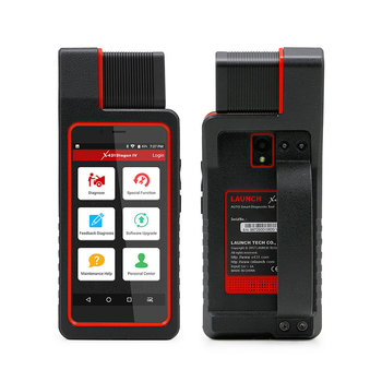 Launch X431 Diagun IV car Diagnotist Tool with Full Connectors 2 years Free Update Online - Obdiiscantool.com