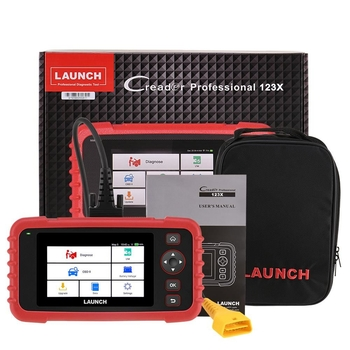 LAUNCH CRP123X OBD2 Code Reader for Engine Transmission ABS SRS Diagnostics with AutoVIN Service Lifetime Update Online - Obdiiscantool.com