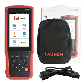 Launch CRP818 Full-System OBD2 Diagnostic Tool for European Cars Free Update Online - Obdiiscantool.com