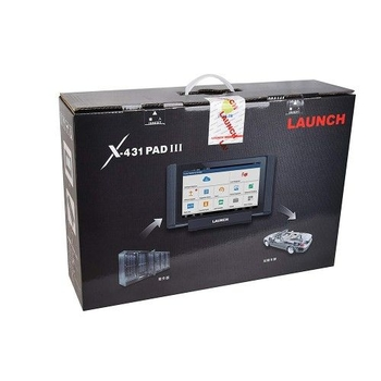 Original LAUNCH X431 PAD III V2.0 Full System Diagnostic Tool with Wifi and Bluetooth 4 .2 Support Coding and Programming - Obdiiscantool.com