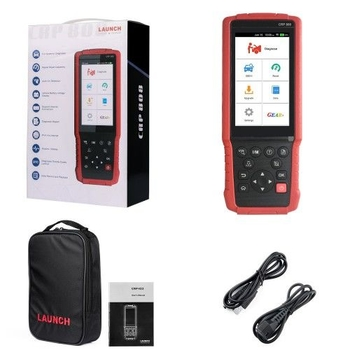 LAUNCH CRP808 Full System Diagnostic Tool for American European and Asian Vehicles with Special Functions