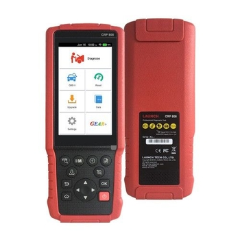 LAUNCH CRP808 Full System Diagnostic Tool for American European and Asian Vehicles with Special Functions - Obdiiscantool.com
