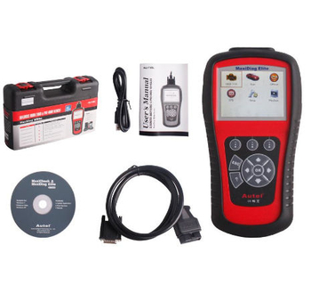 Autel MaxiDiag Elite MD802 All System+DS Model Free Update Online - Obdiiscantool.com