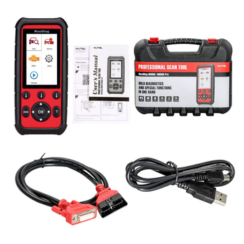 Autel MaxiDiag MD808 Code Reader Professional Service Scan Tool for Engine/Transmission/SRS /ABS /EPB/ Oil Reset/ DPF/SAS and BMS with Life-time Online Update - Obdiiscantool.com