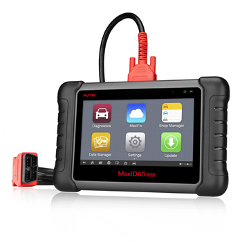 AUTEL MaxiDAS DS808 KIT Tablet Diagnostic Tool Full Set Support Injector & Key Coding Update Online - Obdiiscantool.com
