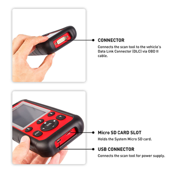 Autel MaxiDiag MD808 PRO Diagnostic Tool Full Systems with Special Function for EPB/ Oil Reset/ DPF/SAS and BMS - Obdiiscantool.com
