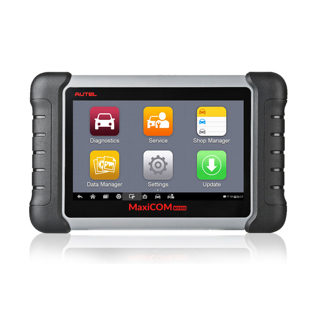 Autel MaxiCOM MK808 OBD2 Diagnostic Scan Tool with All System and EPB/IMMO/DPF/SAS/TMPS More Service Functions