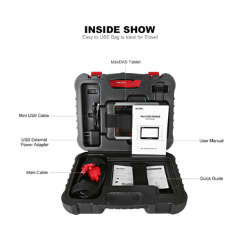 Autel MaxiCOM MK808 OBD2 Diagnostic Scan Tool with All System and EPB/IMMO/DPF/SAS/TMPS More Service Functions - Obdiiscantool.com