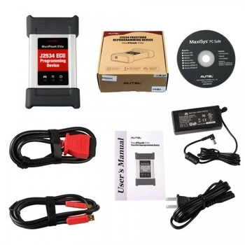Autel MaxiFlash Elite J2534 ECU Programming Tool Works with Maxisys 908/908P - Obdiiscantool.com