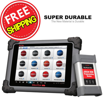 Autel Maxisys MS908CV Heavy Duty Automotive Diagnostic Scanner Scan Tool with J2534 ECU Coding & Program
