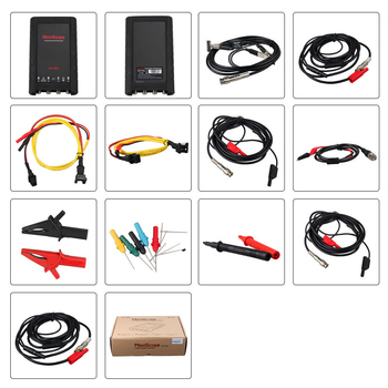 Autel MaxiScope MP408 4 Channel Automotive Oscilloscope Basic Kit Works with Maxisys Tool - Obdiiscantool.com
