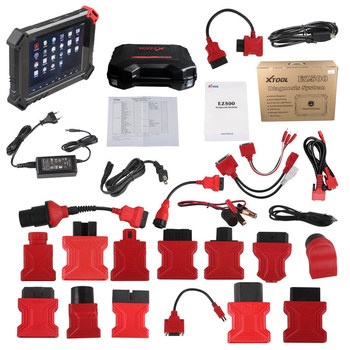 XTOOL EZ500 Full-System Diagnostic tool for Gasoline Vehicles with Special Function Same Function With XTool PS80 - Obdiiscantool.com