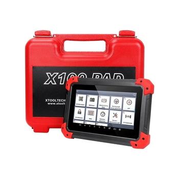 XTOOL X100 PAD X-100 Auto Car Key Programmer Supports Oil Reset and Odometer Correction with EEPORM Update Online - Obdiiscantool.com