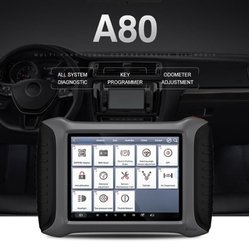 XTOOL A80 H6 Full System Car Diagnostic tool OBDII Car Repair Tool Vehicle Programming/Odometer adjustment - Obdiiscantool.com