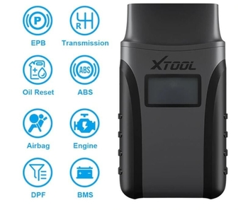XTOOL Professional Auto Diagnostic Tools with All System Car Detector OBD2 Code Reader Scanner Support Android/IOS Free Update Online - Obdiiscantool.com