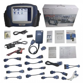 Original Xtool PS2 Professional Automobile Heavy Duty Truck Diagnostic Tool Update Online - Obdiiscantool.com