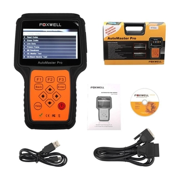 Foxwell NT644 AutoMaster All Makes Full Systems+ EPB+ Oil Service Scanner - Obdiiscantool.com