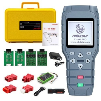 OBDSTAR X-100 PRO Auto Key Programmer (C+D) Type for IMMO+Odometer+OBD Software Get Free PIC and EEPROM 2-in-1 Adapter - Obdiiscantool.com