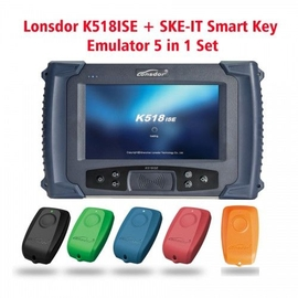 Lonsdor K518ISE Key Programmer Plus SKE-IT Smart Key Emulator 5 in 1 Set Full Package
