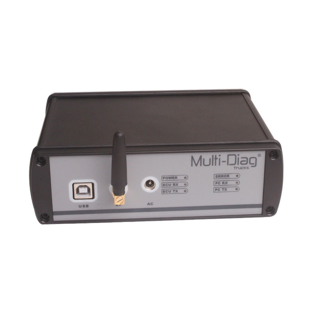 WAS Multi-Diag Truck Diagnostic Tool with Bluetooth in Multi-Language