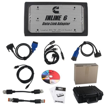 Cummins INLINE 6 Data Link Adapter Cummins Heavy Duty Truck Diagnostic Tool Diesel Truck Scanner