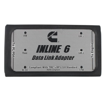 Cummins INLINE 6 Data Link Adapter Cummins Heavy Duty Truck Diagnostic Tool Diesel Truck Scanner - Obdiiscantool.com