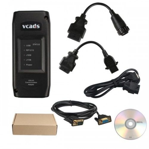VCADS Pro 2.40 for Volvo Truck Diagnostic Tool With Multi Languages