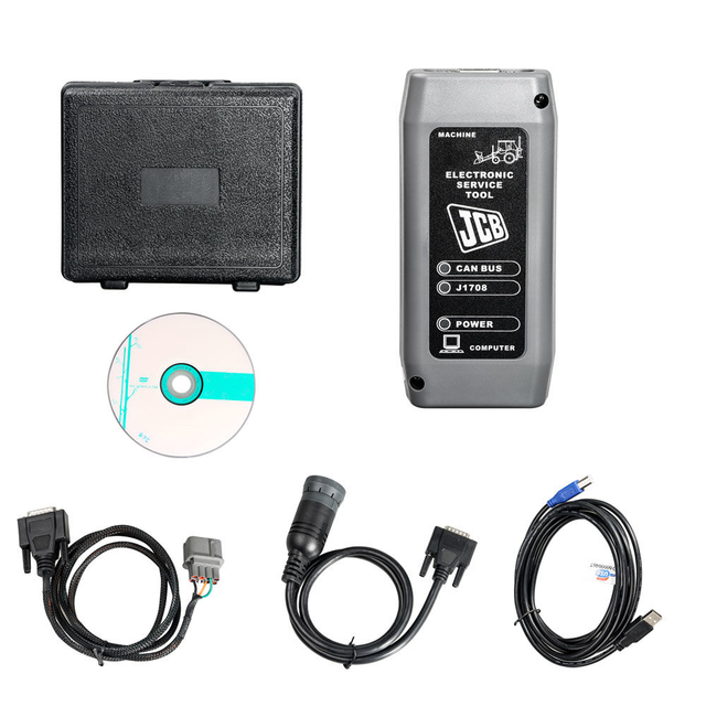 V17.0 JCB Heavy Duty Truck Diagnostic Scanner Electronic Service tool with JCB Service Master 4