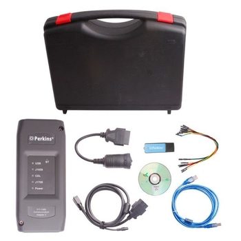 Perkins EST Interface EST heavy duty Diagnostic Adapter V2015V With Bluetooth - Obdiiscantool.com