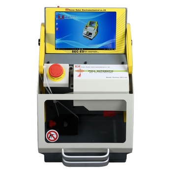 SEC-E9 CNC Automated Key Cutting Machine with Android Tablet Get Free Ford Tibbe Jaws FO21 Clamp - Obdiiscantool.com