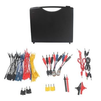Multifunction Automotive Circuit Test Lead Kit Contains 92 pieces of essential test aids - Obdiiscantool.com