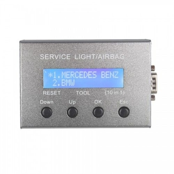 Universal 10 in 1 Service Light & Airbag Reset Tool - Obdiiscantool.com